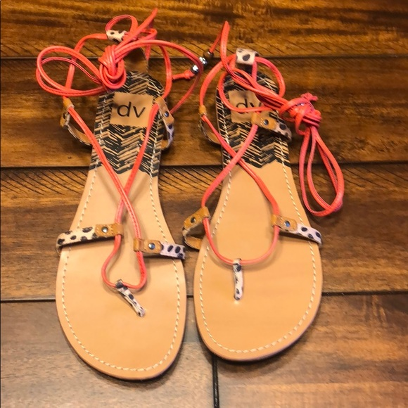 fea7b7f5c6a4 DV by Dolce Vita Shoes | Dolce Vita Lace Up Sandals | Poshmark